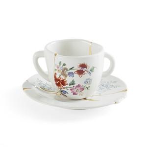 Tazza da Caffè in Porcellana Kintsugi #2 Marca Seletti