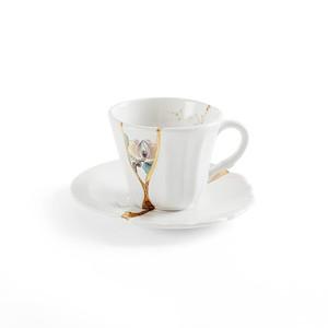 Tazza da Caffè in Porcellana Kintsugi #3 Marca Seletti