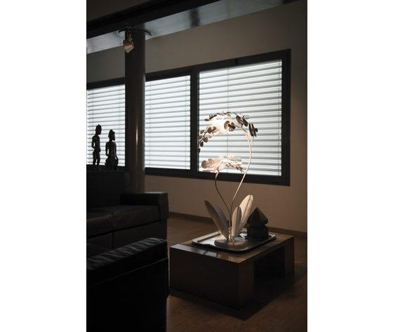 Lampada pianta orchidea design giapponese arti e mestieri 595x893