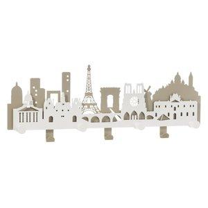 Appendiabiti da parete parigino Paris city, Marca Arti e Mestieri