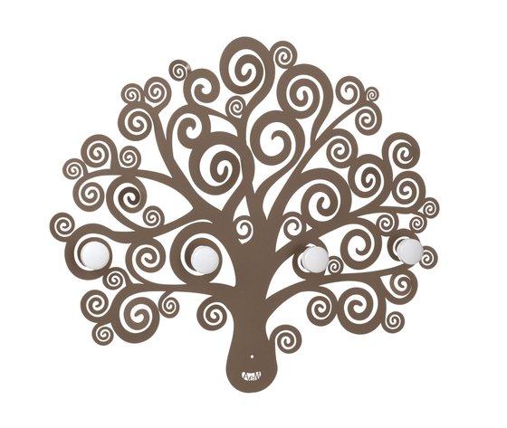 Appendiabiti albero della vita bronzo
