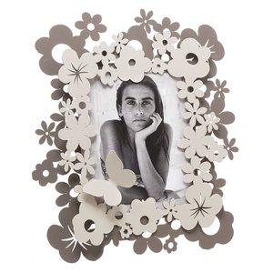 pORTA fOTO con DETTAGLI A Fiori e Farfalle  mod. Daisy Marca Arti e Mestieri