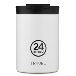 Travel Tumbler  24 Bottles  Borraccia Termica da Viaggio Mod. Ice White da 350 Ml