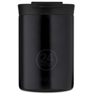 Travel Tumbler  24 Bottles  Borraccia Termica da Viaggio Mod. Tuxedo Black da 350 Ml