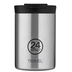 Travel Tumbler  24 Bottles  Borraccia Termica da Viaggio Mod. Steel  da 350 Ml