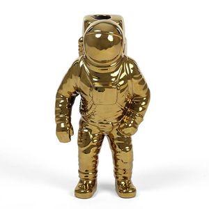 Vaso In Porcellana Starman Cosmic Diner Gold  marca Seletti design Diesel