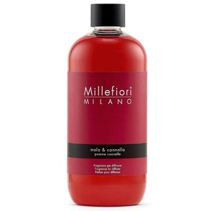 Millefiori Milano Ricarica da 500 Ml Grande per Diffusori Mela e Cannella