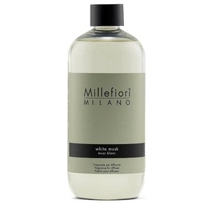 Refill da 500 Ml White Musk / Muschio Bianco Millefiori Milano