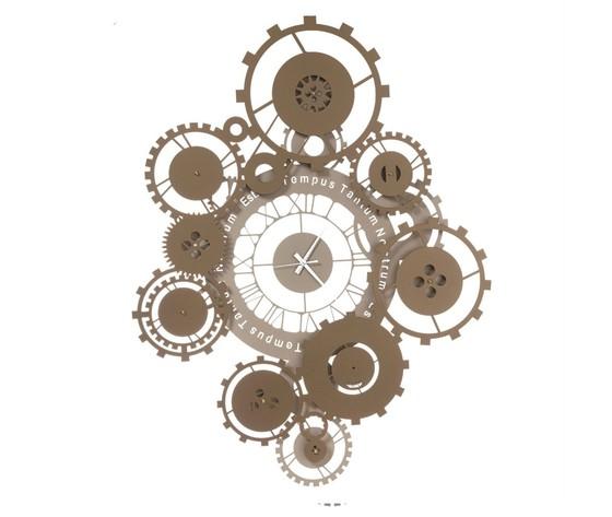 Orologio moderno tempus sabbia bronzo