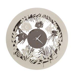 Orologio da Parete con pesciolini Mod. Nettuno, Marca Arti e Mestieri