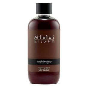 Millefiori Milano Ricarica Refill da 500 ml Sandalo e Bergamotto