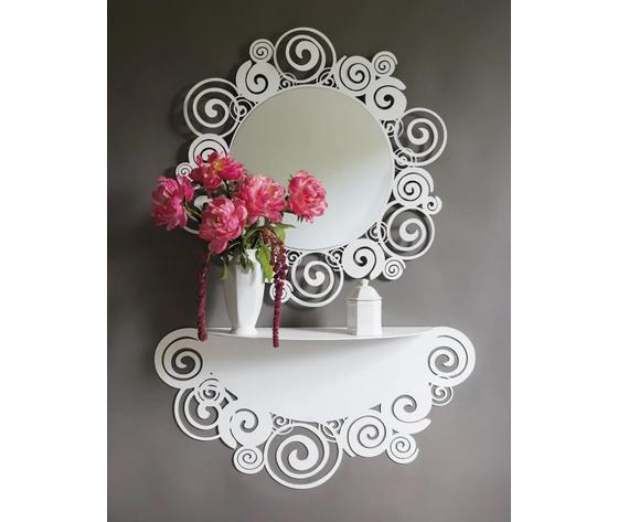 Orfeo specchio consolle artiemestieri
