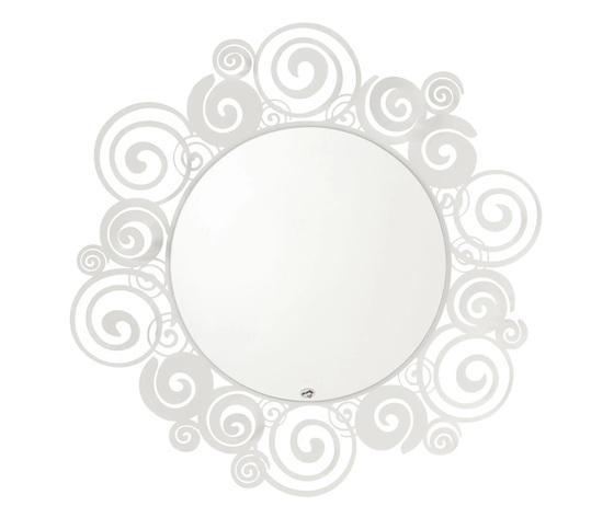 Specchio orfeo bianco artiemestieri vendita