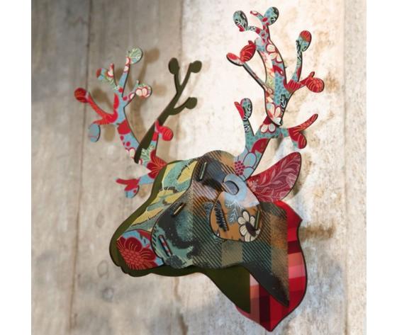 Trofeo decorativo foliage mihounespected