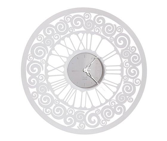 Orologio rococ bianco