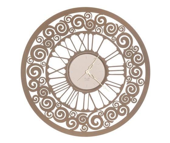 Orologio rococo bronzo