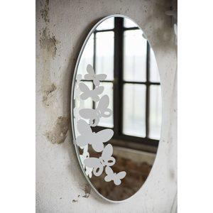 Specchio da parete Ingresso Moderno Butterfly Ovale Arti e Mestieri