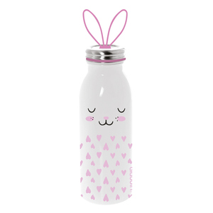 Borraccia Termica In Acciaio Inox da 450 Ml Linea Zoo-Dog Mod. Bunny Design Aladdin