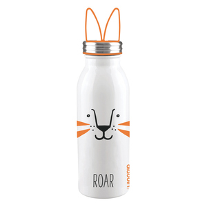 Borraccia Termica In Acciaio Inox da 450 Ml Linea Zoo-Dog Mod. Lion Design Aladdin