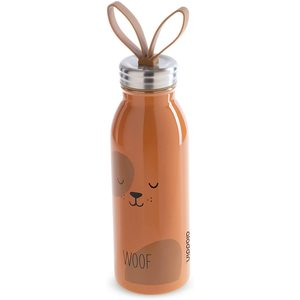 Borraccia Termica In Acciaio Inox da 450 Ml Linea Zoo-Dog Mod. Dog Design Aladdin