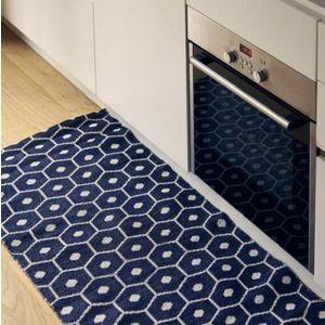 Tappeto da Interno / Esterno Red Carpet Mod. Exagon Blu  Pusher Design