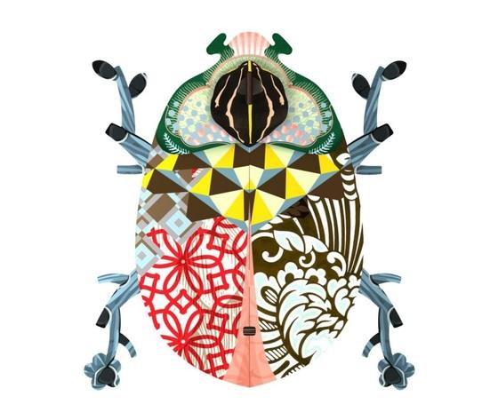 Portachiavi porta oggetti scarabeo John shoppingonline metoo-design roma marca miho offerta
