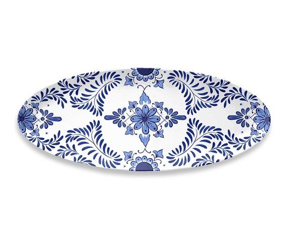 Santorini %e2%80%a2 touch mel %e2%80%a2 oval platter