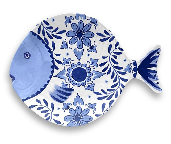Santorini %e2%80%a2 touch mel %e2%80%a2 figural fish tray