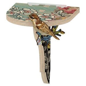 "Mensola con Uccellino Decorativo ""Flying Licence"""