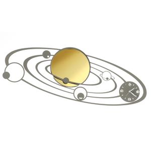 Orologio da Parete a tema spaziale  Con Pianeti mod. Planetarium Arti e Mestieri