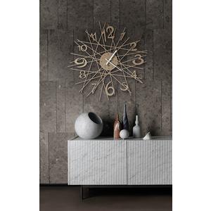 Orologio Moderno In ferro da parete Zig -Zag Arti e Mestieri vendita shopping metoo-design