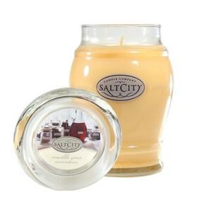 Candela Profumata Salt City  in Giara di Vetro  750 gr, Vanilla Spice