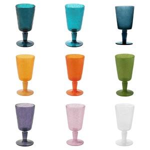 Bicchieri da Vino Colorati Goblet Memento Synth Emporio Zani in Metacrilato