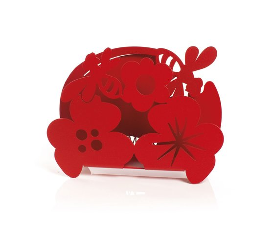 Portatovaglioli apina rosso