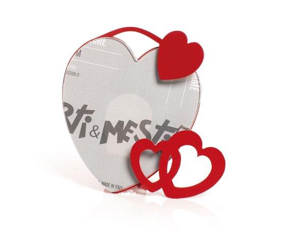 Portafoto love rosso cuore