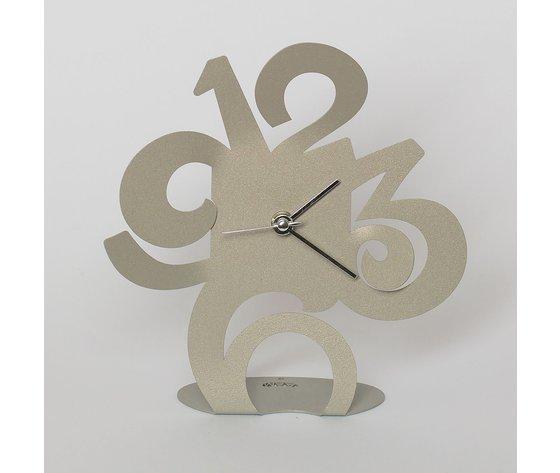 Orologio da tavolo plink sabbia arti e mestieri