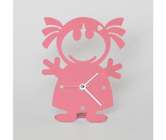 Orologio biba rosa arti e mestieri
