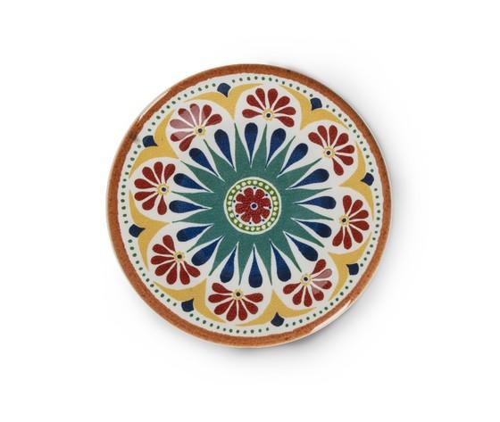 Piatto dessert ceramica porto emporio zani