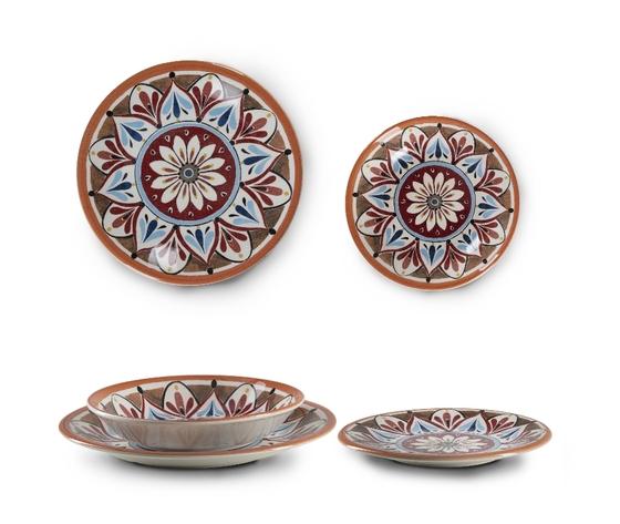 Piatti fondi piani e da dessert madrid in ceramica
