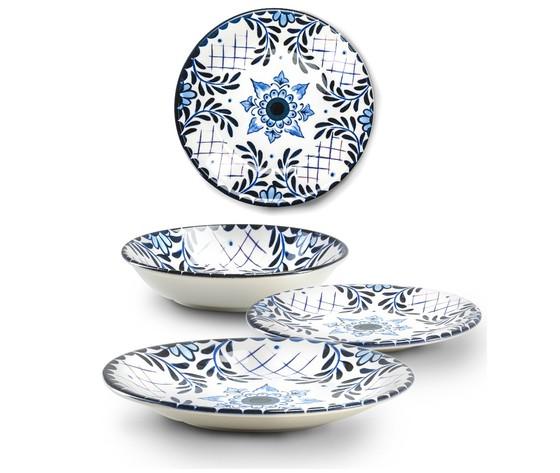Santorini servizio tavola in ceramica