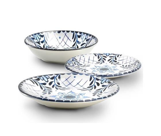 Set da 18 pz emporio zani ceramica