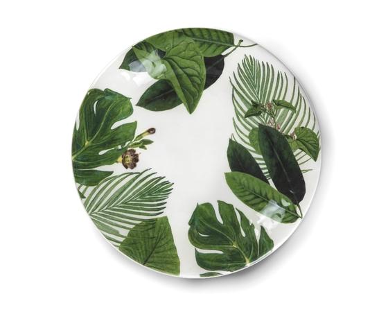 Piatto piano  frontale ceramica york