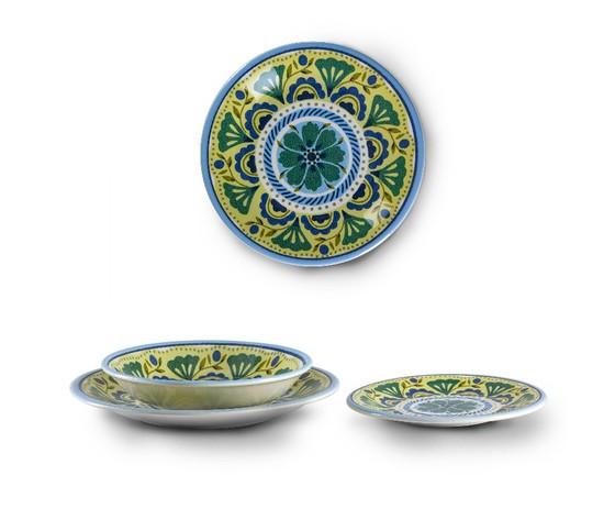 London da 6 pz in ceramica zani