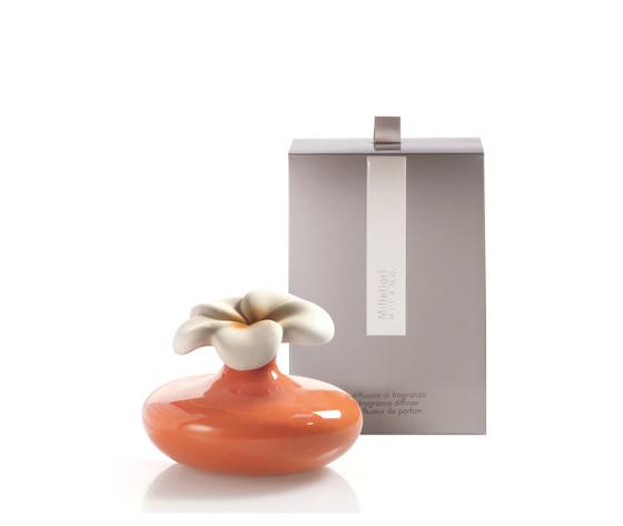 Bomboniera millefiori fiore arancio con scatola