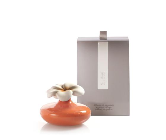 Bomboniera millefiori fiore mini arancio