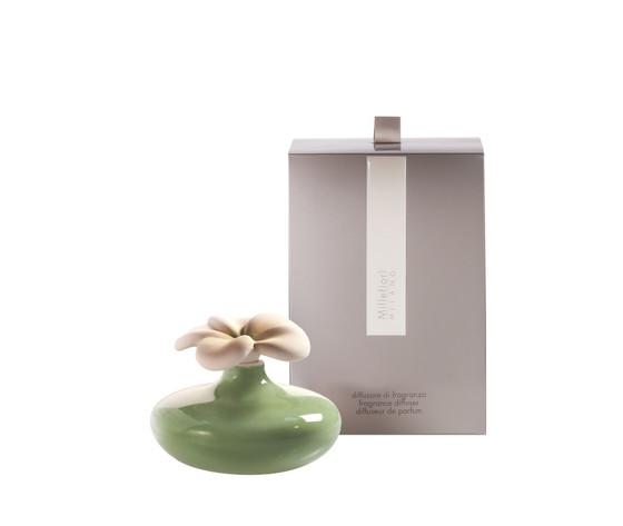 Bomboniera con scatola fiore mini verde millefiori air design