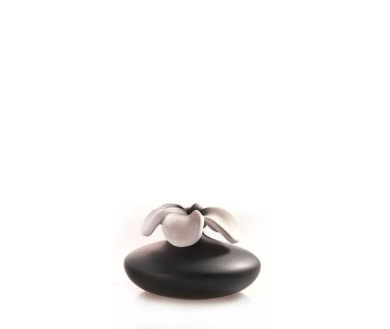 Fiore nero in ceramica millefiori milano