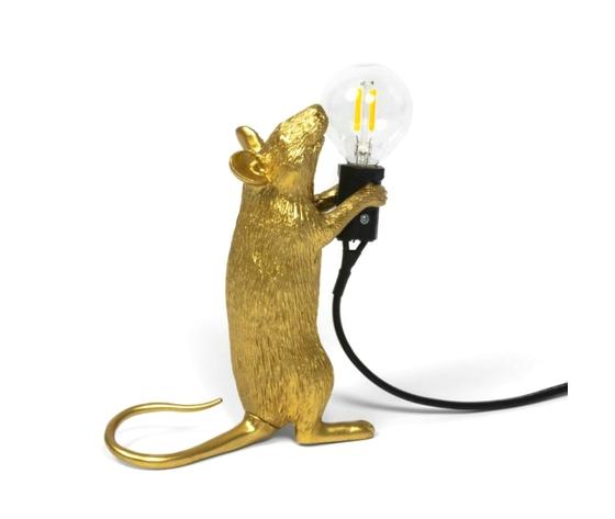 Mouselamp oro in piedi seletti