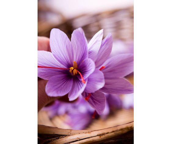 Golden saffron millefiori