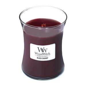 WoodWick Candela Media Black Cherry